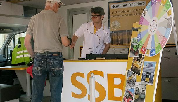 Ssb Ag roadshow für die ssb ag sitibi kommunikation gmbh